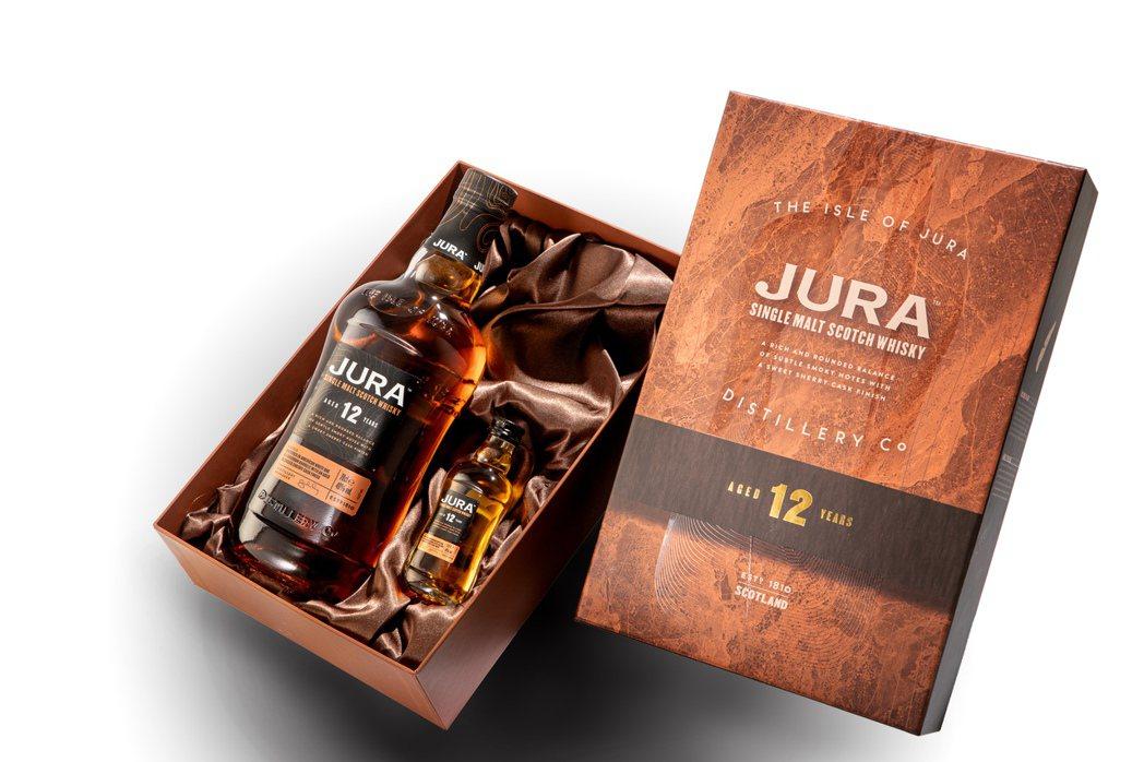 吉拉12年單一麥芽蘇格蘭威士忌非凡禮盒。業者/提供