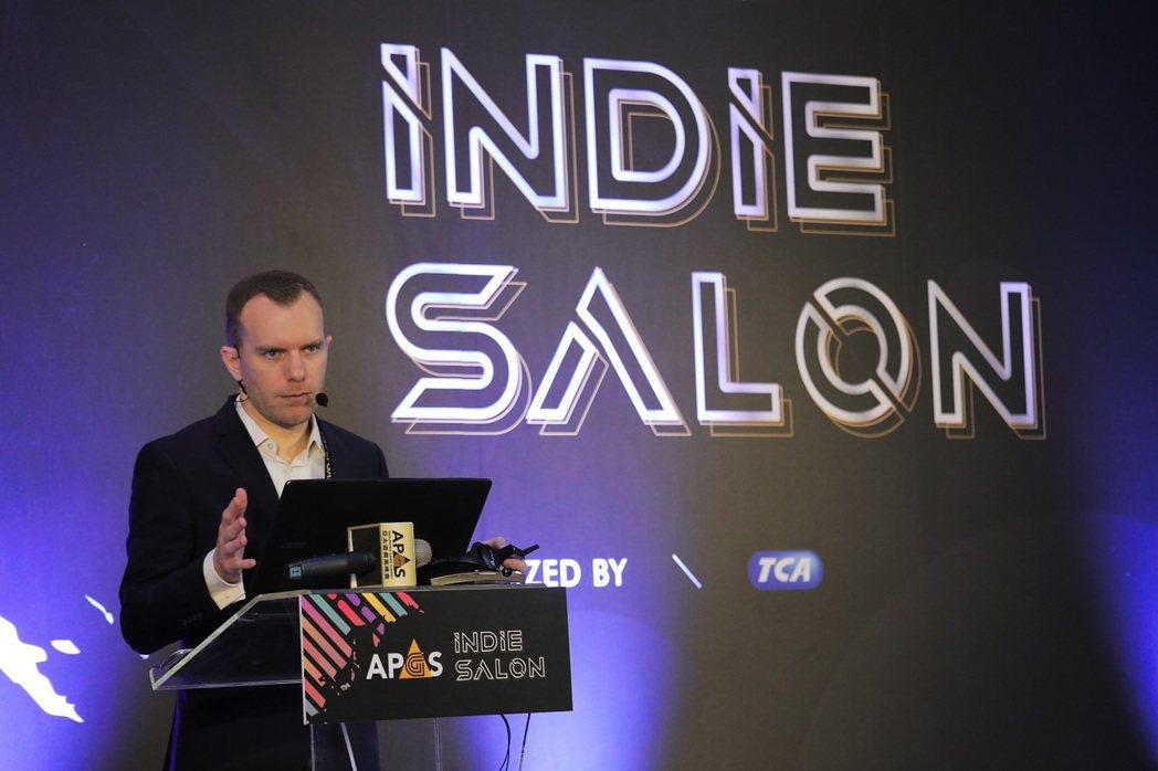 為獨立遊戲開發者打造發表舞台的「INDIE SALON」有來自11國的團隊公開創...