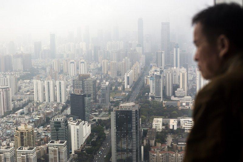 美中貿易戰以來,深圳淪為重災區。 圖/歐新社