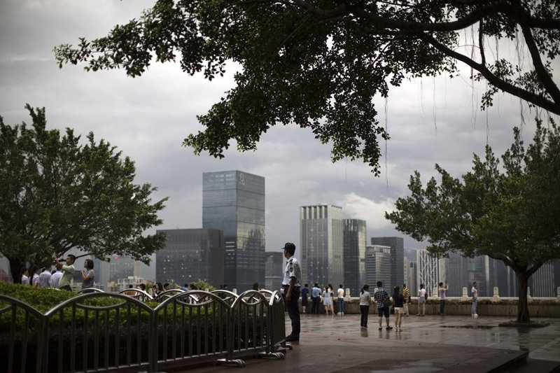2019年上半年,深圳頂級商辦平均空置率創下23.3%的歷史新高。 圖/歐新社
