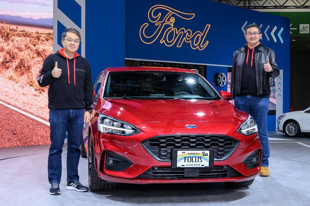 Ford Focus在上市不到一年累積銷售突破萬輛達到10,821輛,相較前一年...