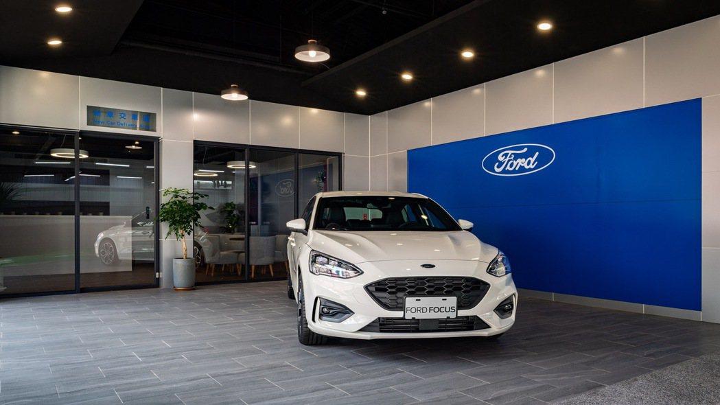 Ford瑞特汽車新落成的新車交車中心承襲Ford為全新交車整備中心所設定的風貌,...