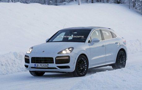 Porsche Cayenne Coupe竟還有更強版本?雪地中露端倪