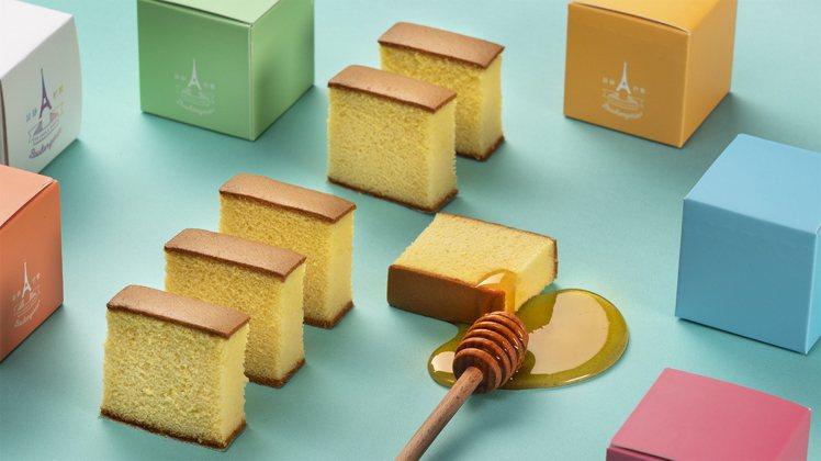 昂舒巴黎新品「蜂蜜蛋糕」。圖/昂舒巴黎提供