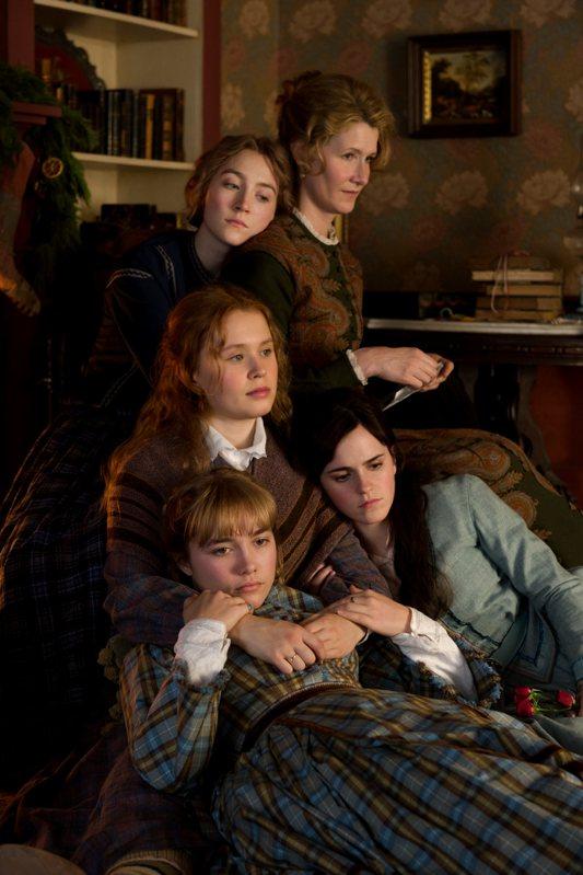 「她們」改編自經典名著「小婦人」。圖/索尼提供