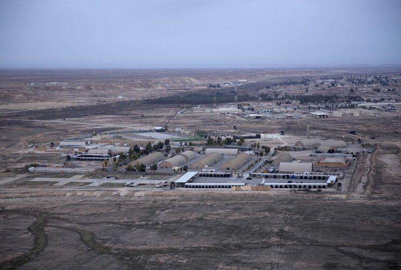 艾因.阿薩德(Ayn al Asad)空軍基地。美聯社