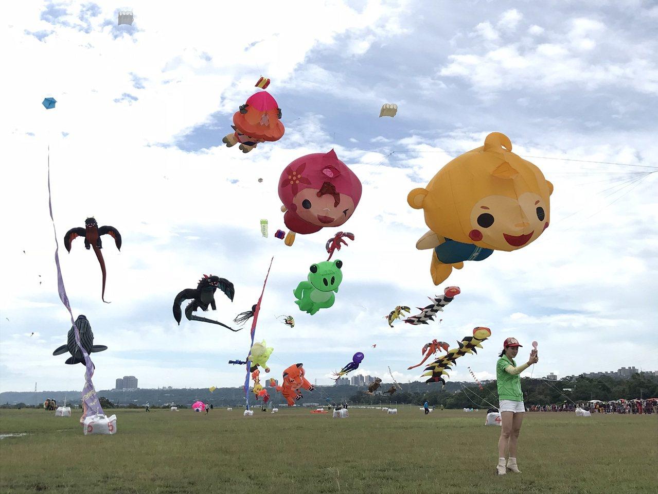 桃園風箏節走國際化路線。圖/桃園市政府觀光旅局提供