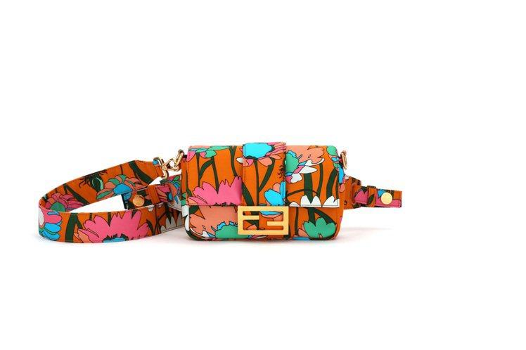印花Baguette腰包,68,000元。圖/FENDI提供