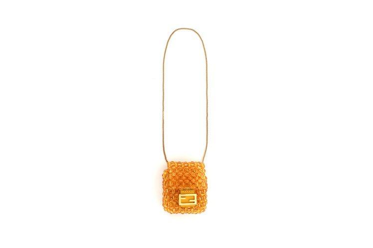 Baguette吊飾,23,400元。圖/FENDI提供