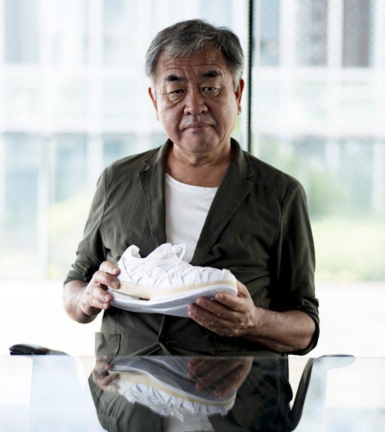 ASICS與日本建築大師隈研吾聯手打造METARIDE AMU跑鞋。圖/ASIC...