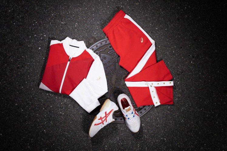 RETRO TOKYO 運動系列服飾以摺紙藝術為發想,作為服裝上的巧思。圖/AS...