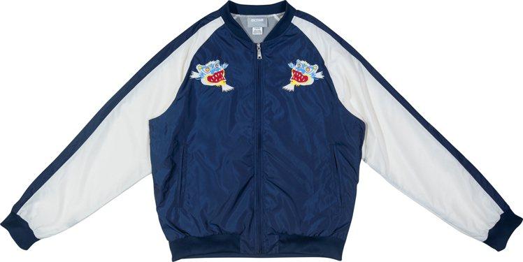 橫須賀棒球外套,售價4,290元。圖/ASICS提供