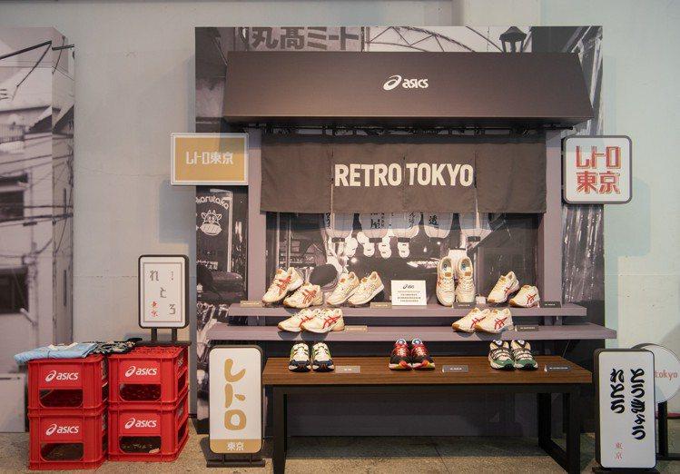 亞瑟士RETRO TOKYO復刻東京全產品系列,將經典紅、白、藍三色用於旗下經典...