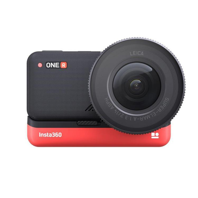 Insta360 ONE R頂配版搭配1英寸感光元件和先進的防手震功能,圖/徠卡...