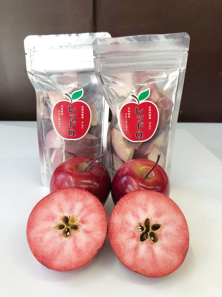 1/10至1/12同步於B1舉辦青森物產美食展,各式蘋果製品是一大主題。圖/大葉...