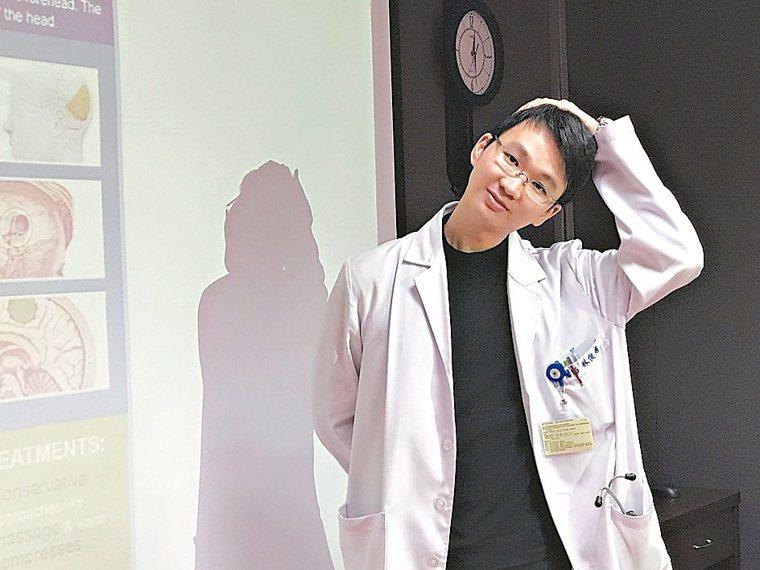林俊甫醫師建議,枕神經痛如果痛右邊,用手把頭往左邊拉,持續5分鐘,可緩解不舒服。...