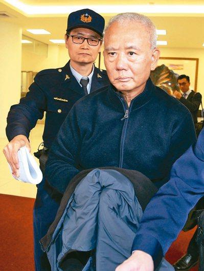 頂新製油前董事長魏應充昨發監執行。 記者陳柏亨/攝影