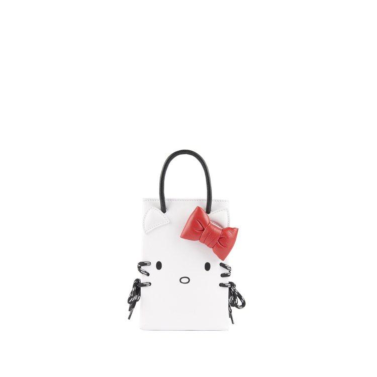 Kitty Phone Holder包,34,300元。圖/BALENCIAGA...