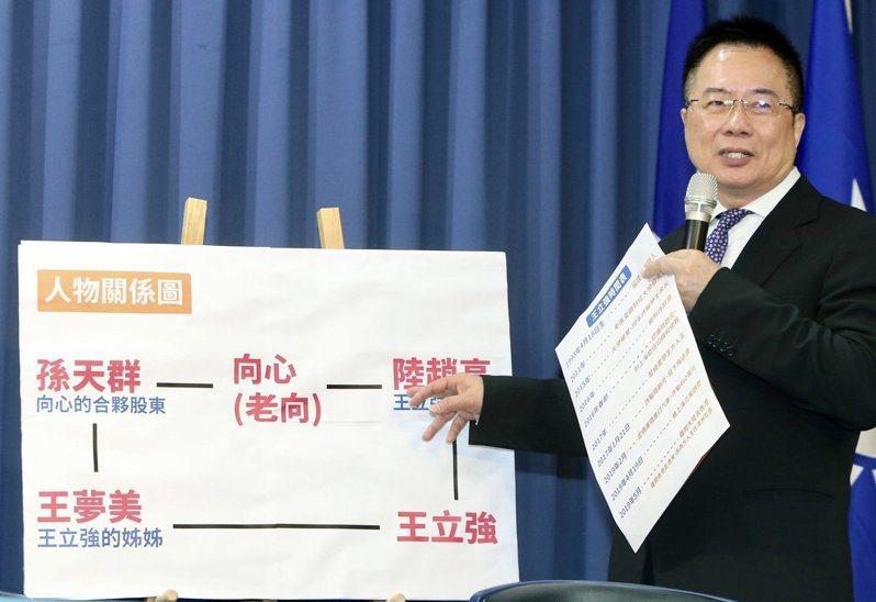 國民黨副秘書長蔡正元。記者林伯東/攝影