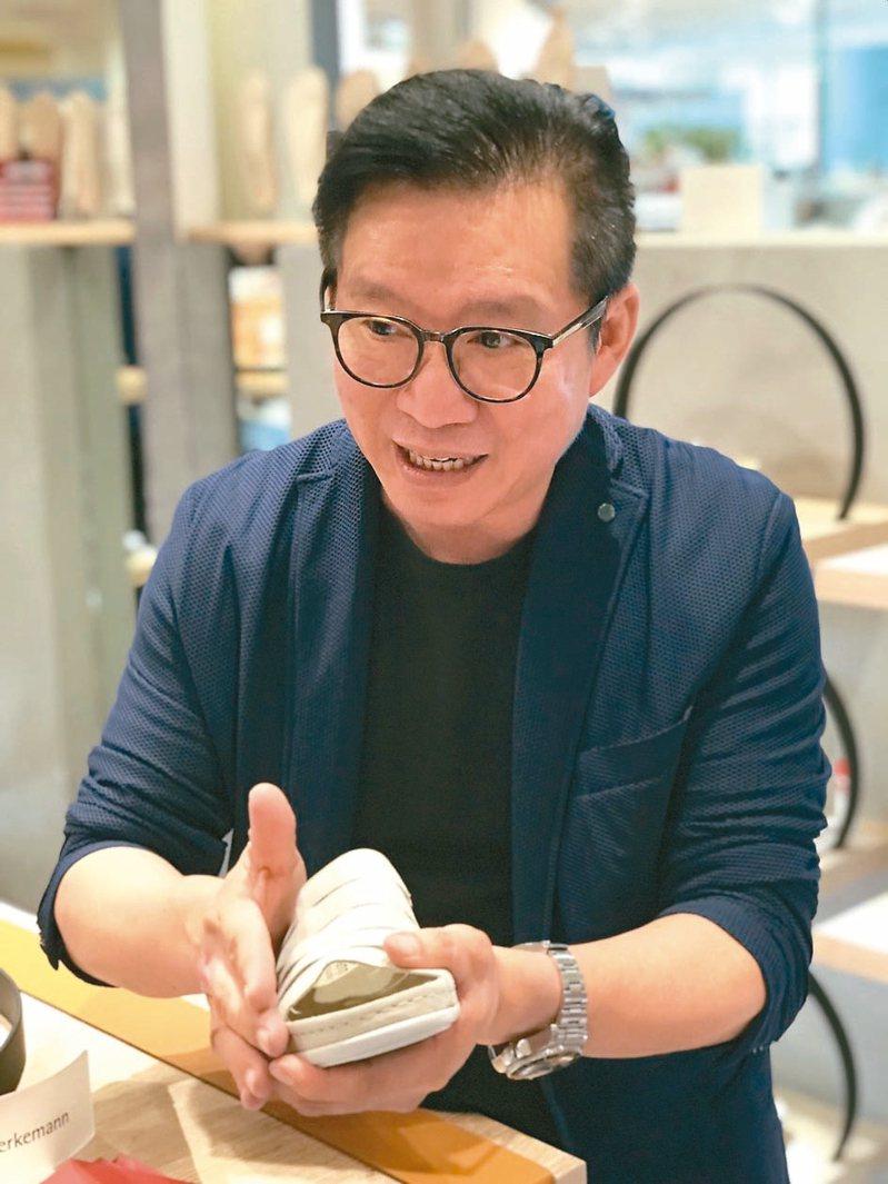 舞津濃創意生活總經理蔡財源26歲便開始創業。 圖/Berkemannk提供