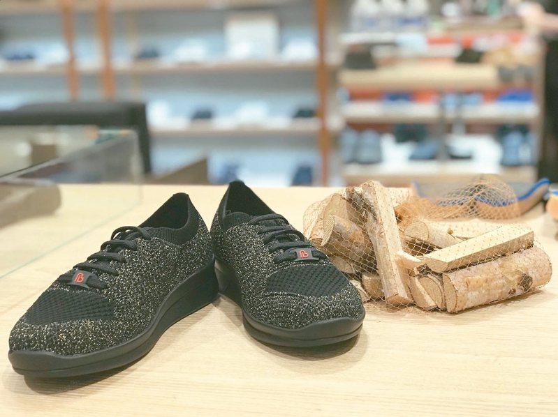 繃帶織線鞋是Berkemannk的明星產品。 圖/Berkemannk提供