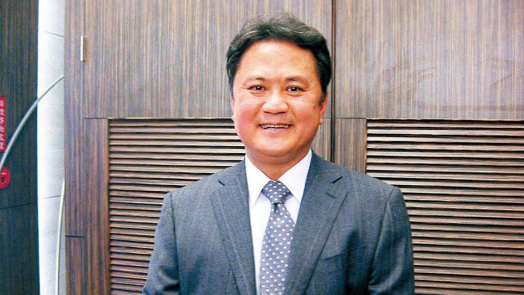 圖為玉晶光董事長陳天慶。 本報資料照片