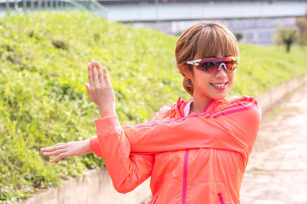 拍戲讓梁舒涵愛上戶外運動,增強體力又紓壓。 圖/Dean Wu 攝影
