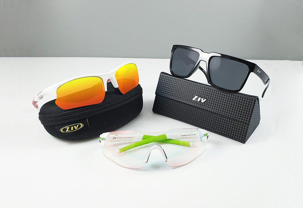 ZIV針對環境與使用者各項功能需求,打造最專業的運動眼鏡。 圖/ZIV 提供