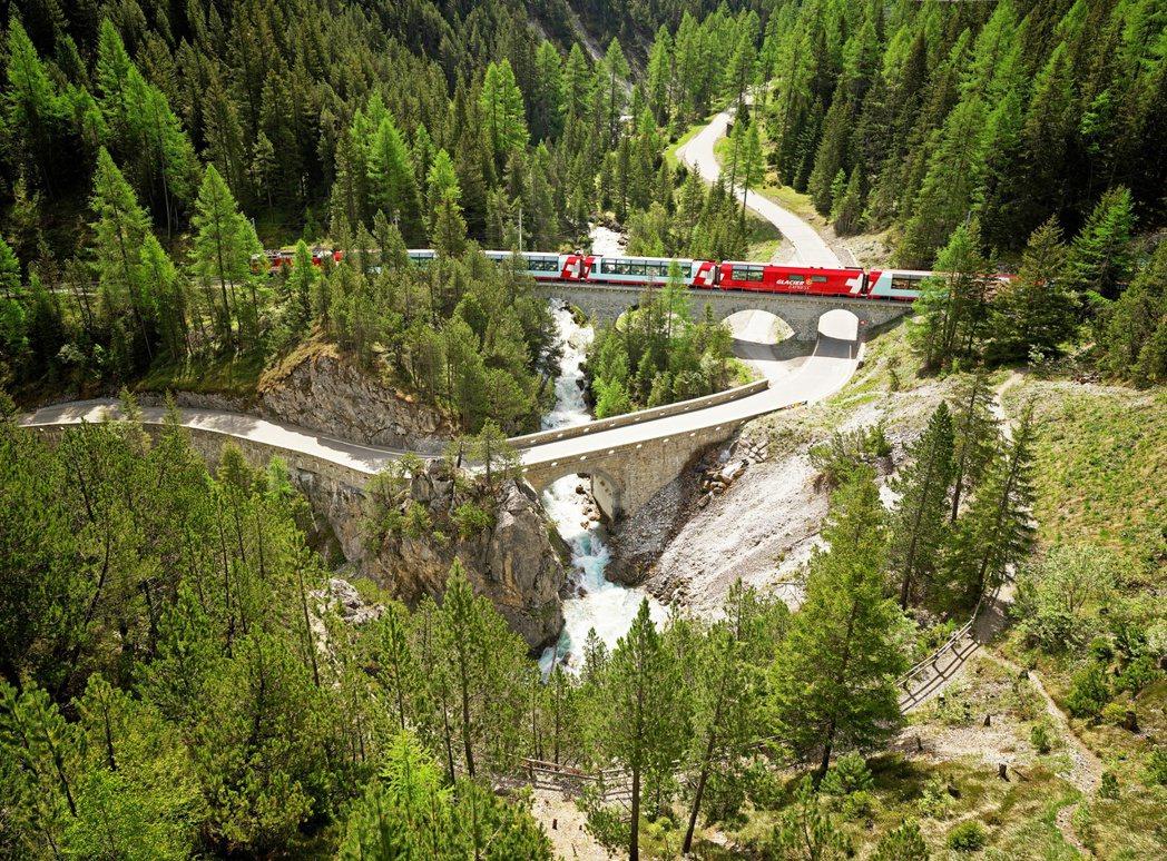 瑞士鐵道是歐洲鐵道網中最健全的代表之一。業者/提供
