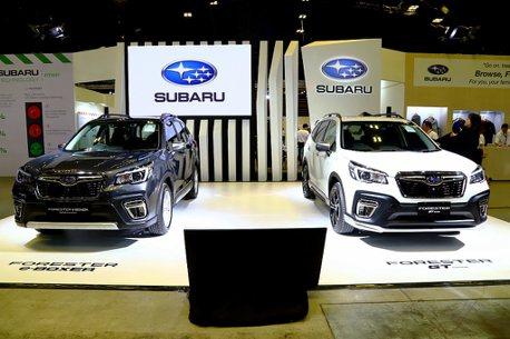 從2020台北車展到新加坡車展!Subaru今年新車陣線全都露