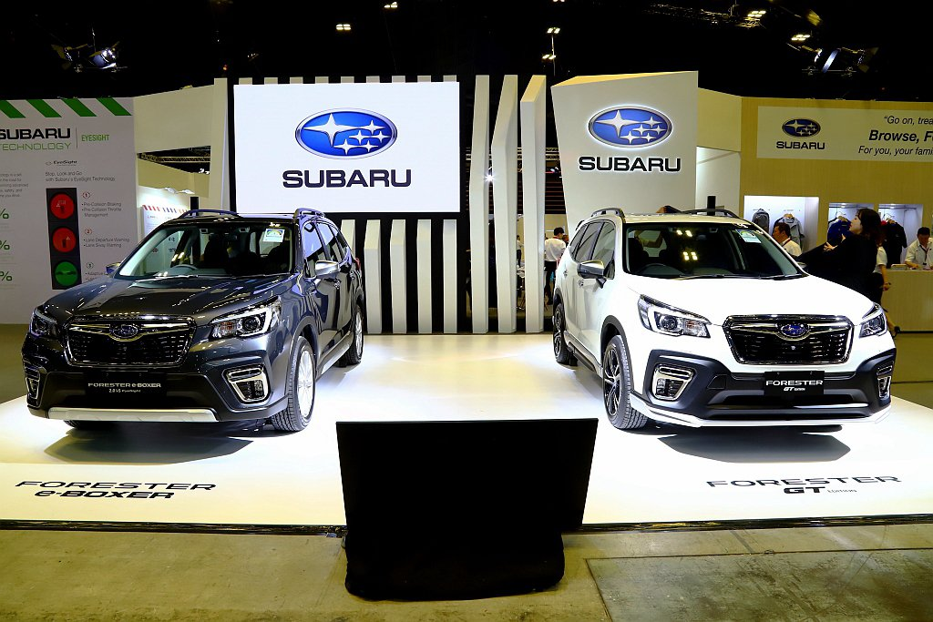 Subaru總代理意美汽車於新加坡車展發表新車,並透露2020年產品計畫。 記者...