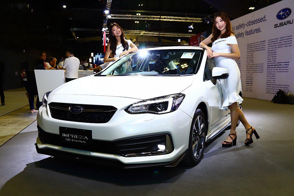 小改款Subaru Impreza先行於新加坡車展上亮相,台灣有望在今年導入。 ...