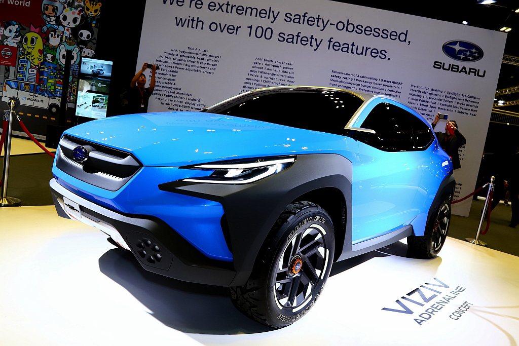 Subaru VIZIV Adrenaline Concept概念車於2019年...