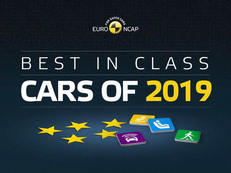 Euro NCAP評選各級距最安全車款。 圖/Euro NCAP提供