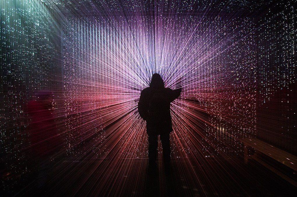 作品:「崩世光景」。圖/取自 月津港燈節FB粉絲團