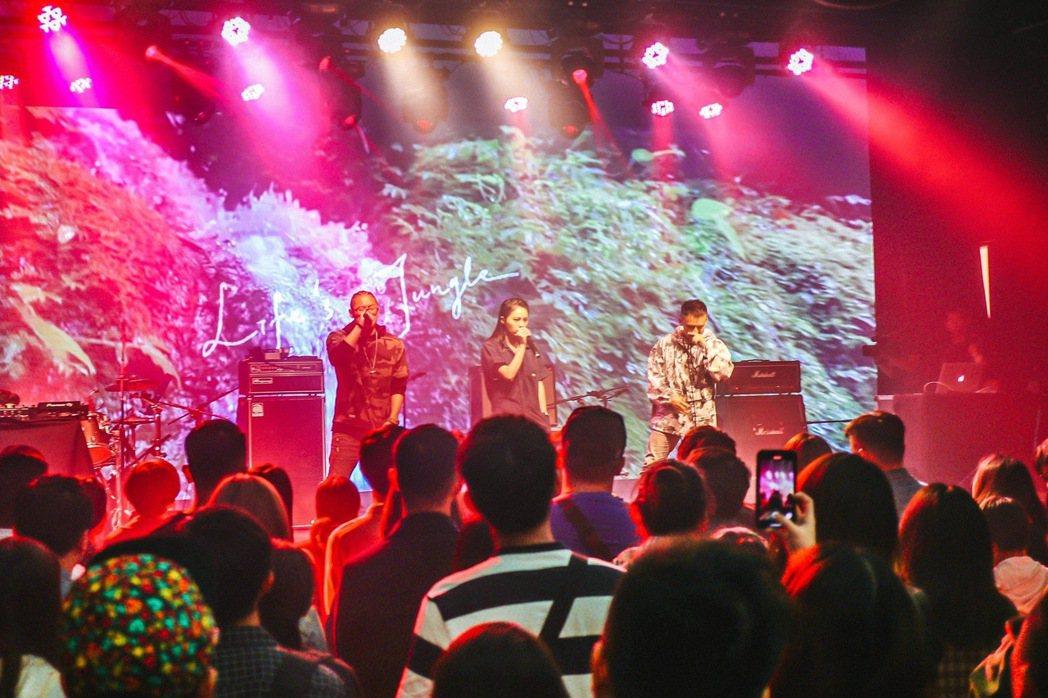 「我們都有病」去年底舉辦音樂會,大聲唱出我有病我驕傲。 圖/「我們都有病」提供