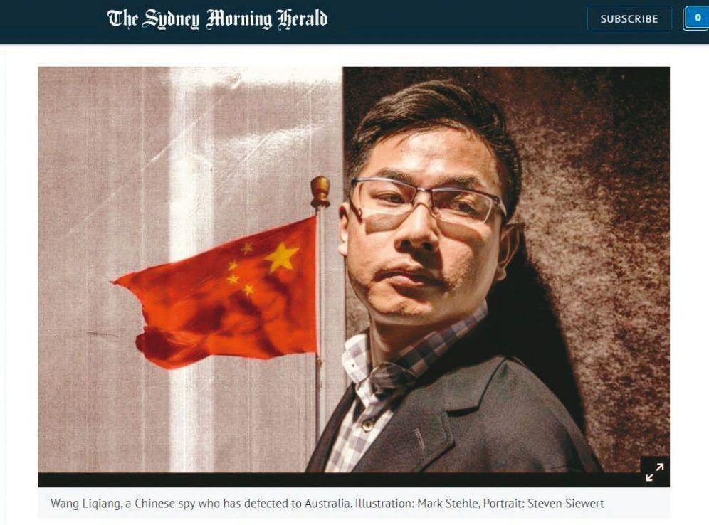 投票前夕,王立強議題又在延燒。 圖/取自雪梨晨鋒報網站
