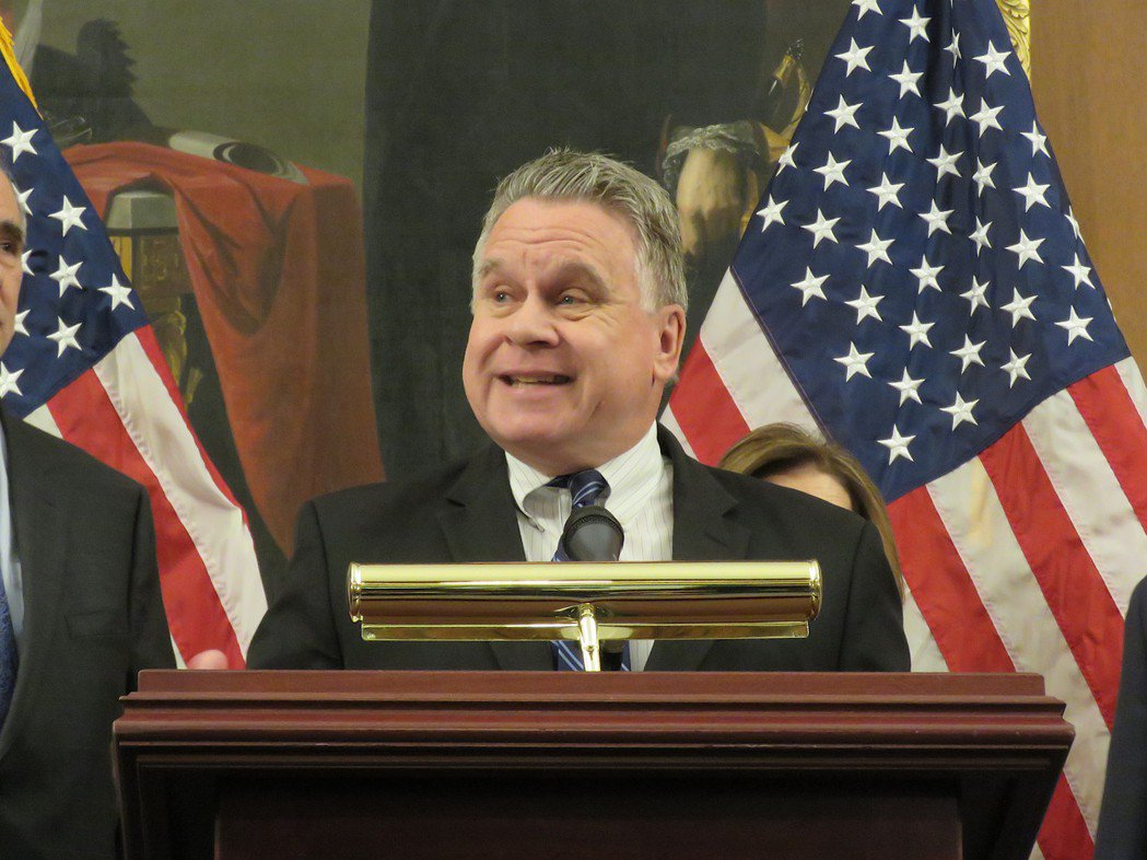美國聯邦眾議員史密斯。本報資料照片