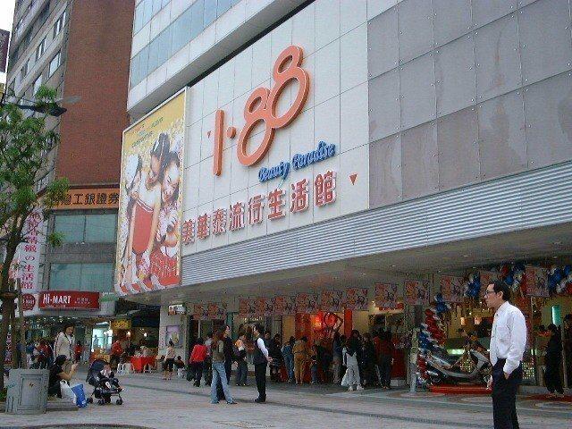 老字號美妝店「美華泰」今年將收掉4家分店,圖為2018年7月結束營業的台北市西門...