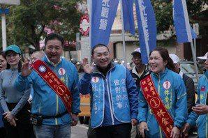 最後兩天 侯友宜:希望新北12席全上、韓國瑜當選