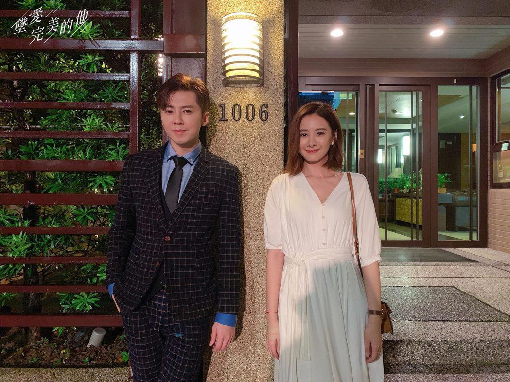 李國毅(左)首次與安心亞合作。圖/歐銻銻娛樂提供