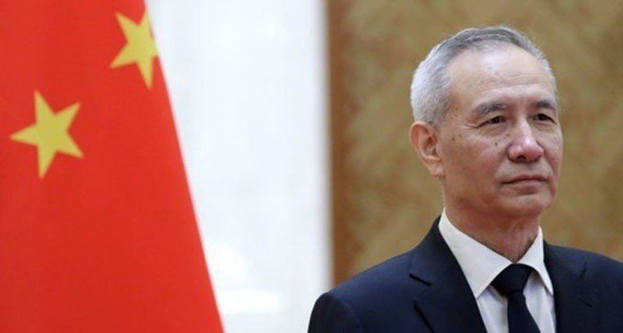 大陸國務院副總理劉鶴13至15日訪美,簽首階段貿易協議。(取自路透)