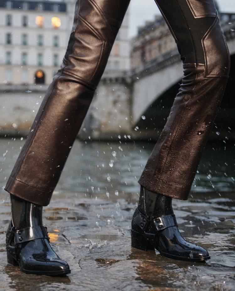 Rain系列Rhapsody ankle boots展現華麗的氣場。圖/LV提供