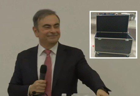 影/記者:「推薦行李箱旅行嗎?」前Nissan總裁高恩神秘一笑
