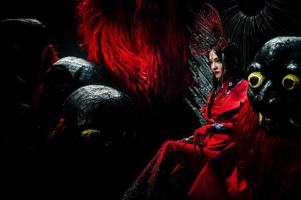 張韶涵新歌「因『我』而起」MV打造新東方美學。圖/心喜文化提供