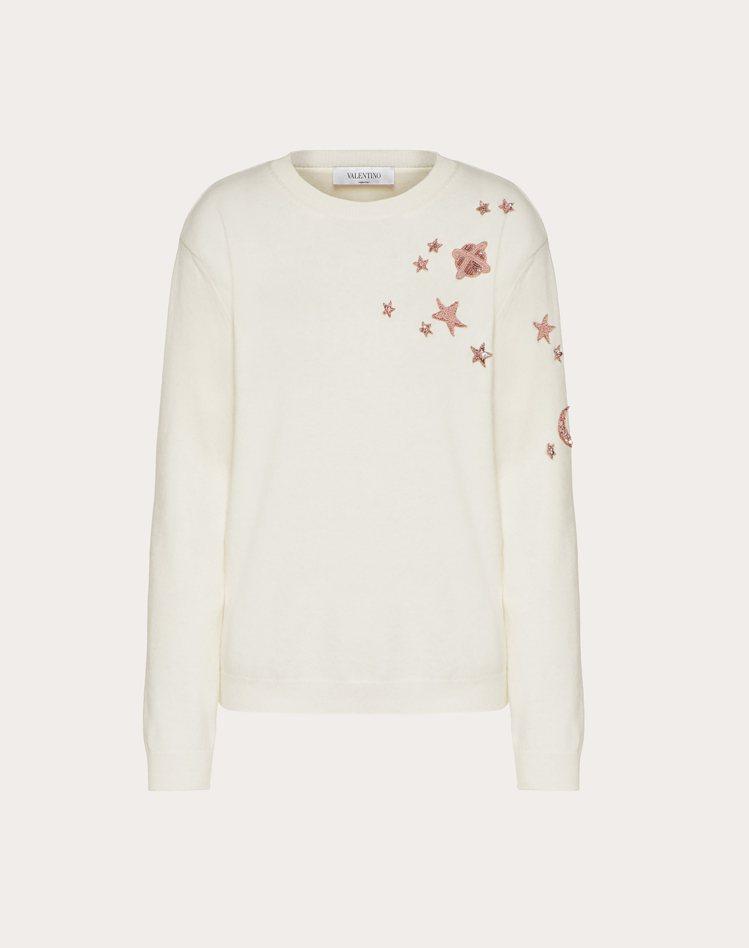 刺繡針織上衣,59,000元。圖/Valentino提供
