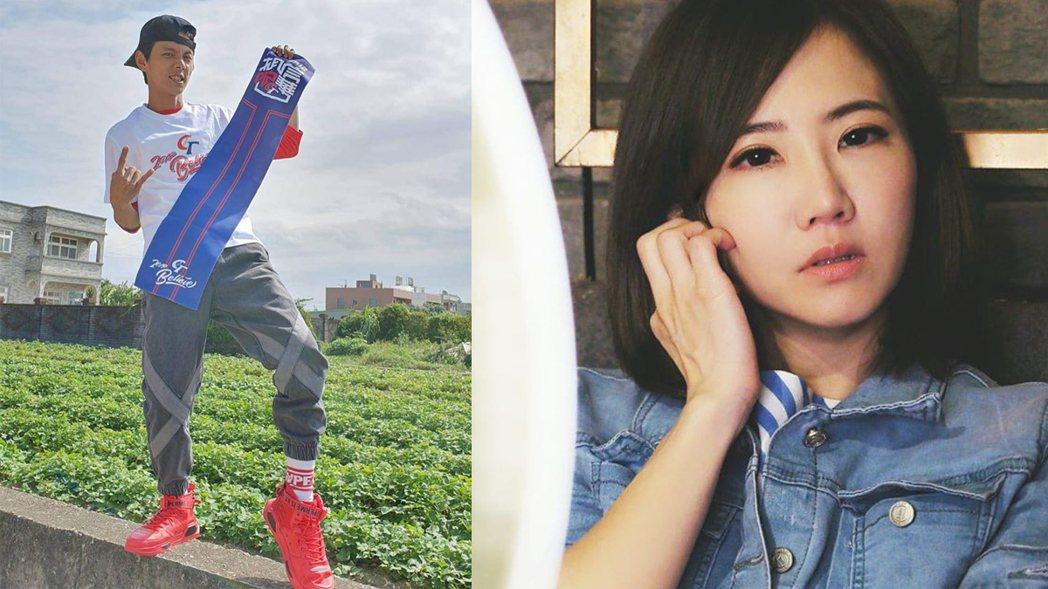阿翔與謝忻。圖/摘自臉書