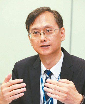 聯電總經理簡山傑 (聯合報系資料庫)