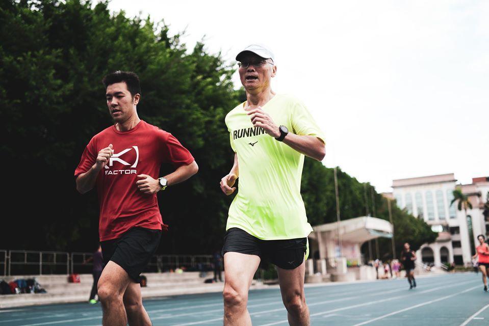 跑步傷膝蓋?其實多半與肌力不足有關。 圖/吳叔丞攝影