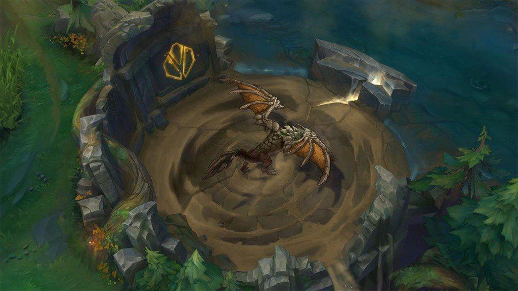 飛龍巢穴:飛龍巢穴的入口出現一塊岩石